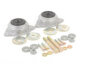 ES#2792630 - 96437504381KT1 - RS Motor Mount Kit - Solid rubber mounts from the Carrera RS - Assembled By ECS - Porsche