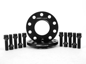 ES#2550786 - ECS263E70WB - BMW 12.5mm Wheel Spacers & ECS Conical Seat Bolt Kit - Aluminum wheel spacers & bolt kit made specifically for your BMW - ECS - BMW