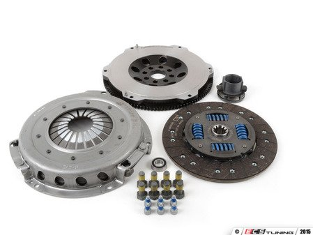 ES#2857544 - 000282ECS01KT1 -  Performance Flywheel & OEM Clutch Kit - Improve throttle response, acceleration and clutch feel - the perfect setup for daily-driven vehicles with up to 400lbs-ft of torque - ECS - BMW