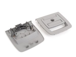 ES#122083 - 51476958162 - Trunk Floor Handle - Grey - Located in the carpet covering the cargo area - Genuine BMW - BMW