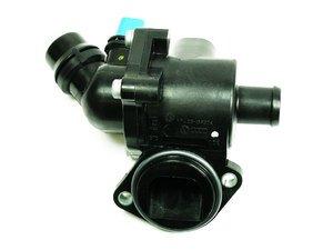ES#240391 - 06B121111K - Thermostat Assembly - Includes housing, gasket & sensor - Mahle - Audi