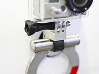 ES#2840464 - PH01 - GoPro Tow Hook Mount - Machined from billet aluminum - Rennline - Audi Volkswagen