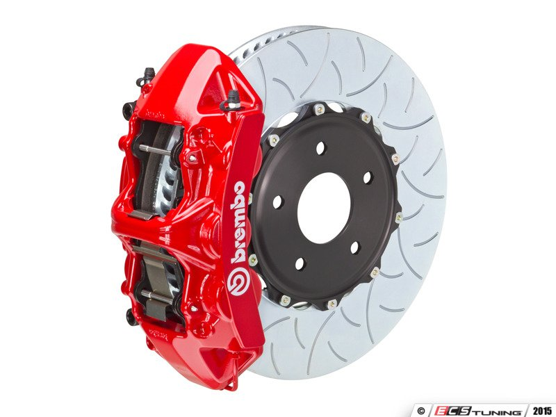 Brembo Brake Pads >> Brembo - 1M3.8061A - Brembo GT Front Big Brake Kit - 2 Piece Slotted Type-3 Rotors (355x32)