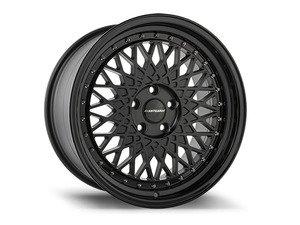 """ES#2840674 - m220112stmbKT - 18"""" M220 - Set Of Four  - 18""""x8"""" ET45 / 18""""x9"""" ET38 5x112 - Matte Black - Avant Garde - Volkswagen"""