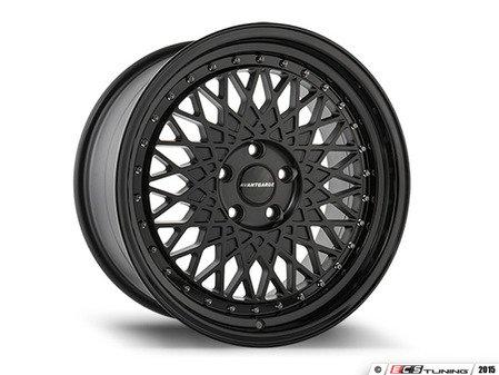 """ES#2999005 - m2201008stKT - 18"""" M220 - Set Of Four  - 18""""x8"""" ET30 / 18""""x9"""" ET30 5x100 - Matte Black - Avant Garde - Volkswagen"""