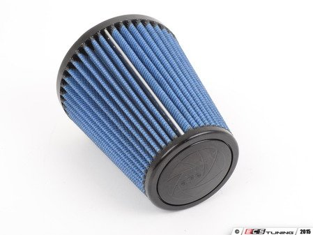 """ES#518479 - 24-35007 - Universal Pro 5R Air Filter - Blue (oiled) - Replacement filter with 3.5""""inlet, 6""""base, 4""""top, and 7""""height - AFE - Volkswagen"""