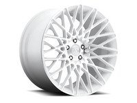 "ES#2849021 - CITRINE-007wKT - 20"" Citrine ""M156"" Wheels - Set Of Four - 20""x8.5"" ET38 57.1CB 5x112 White & Machined - Niche Wheels - Audi"