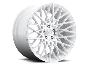 """ES#2849021 - CITRINE-007wKT - 20"""" Citrine """"M156"""" Wheels - Set Of Four - 20""""x8.5"""" ET38 57.1CB 5x112 White & Machined - Niche Wheels - Audi"""
