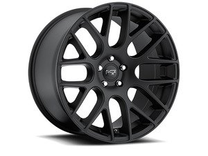 "ES#2862756 - m11019954348KT - 19"" Circuit - Set Of Four - 19""x9.5"" ET48 5x112 - Satin Black - Niche Wheels - Volkswagen"
