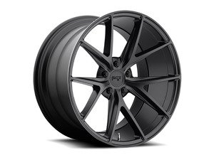 "ES#2863081 - m11718804330KT1 - 18"" Misano - Set Of Four - 18""x8"" ET30 5x112 - Satin Black - Niche Wheels - Volkswagen"