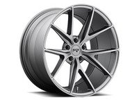 "ES#2848912 - MISANO-003GKT - 18"" Misano ""M116"" Wheels - Set Of Four - 18""x9.5"" ET35 57.1CB 5x112 Matte Gunmetal - Niche Wheels - Audi"