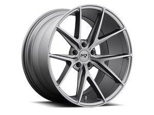 """ES#3071935 - M11618804330KT2 - 17"""" Misano - Set Of Four - 17""""x8"""" ET40 5x112 - Matte Gunmetal - Niche Wheels - Volkswagen"""