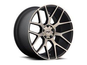 "ES#2855058 - M159-005BKT - 20"" ""M159"" Wheels - Set Of Four - 20""x9"" ET42 57.1CB 5x112 Black & Machined - Niche Wheels - Audi"