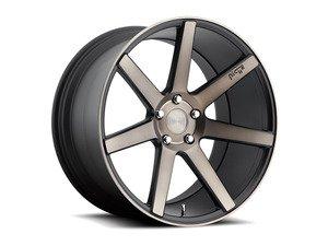 "ES#2848997 - VERONA-005bKT - 20"" Verona ""M150"" Wheels - Set Of Four - 20""x9"" ET38 57.1CB 5x112 Black & Machined - Niche Wheels - Audi"