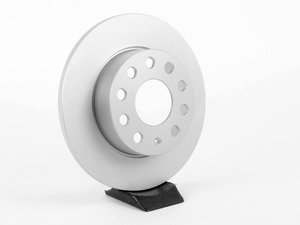 ES#2855675 - 1K0615601L - Rear Brake Rotor - Priced Each (260x12) - Optimal -