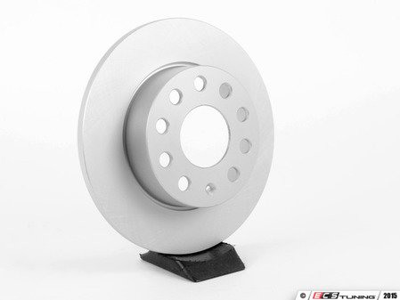 ES#2855675 - 1K0615601L - Rear Brake Rotor - Priced Each (260x12) - Optimal -