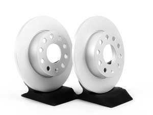 ES#2855676 - 1k0615601llKT - Rear Brake Rotors - Pair (260x12) - Restore the stopping power in your vehicle with these Geomet coated rotors. - Optimal - Volkswagen