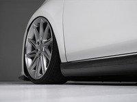ES#2793842 - 007461ECS15 - Golf R Side Skirt Set - Carbon Fiber - OE Golf R Style side skirts made from real carbon fiber - ECS - Volkswagen