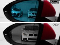 ES#2862774 - 012839ecsKT - Heated Blind Spot Mirror - Set - Upgraded blue tinted mirror glass to allow you to see everything around you - ECS - Volkswagen