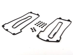 ES#257203 - M6211_2253 - Ultimate Valve Cover Gasket Set - Includes all gaskets needed for a complete valve cover gasket replacement - Elring - BMW