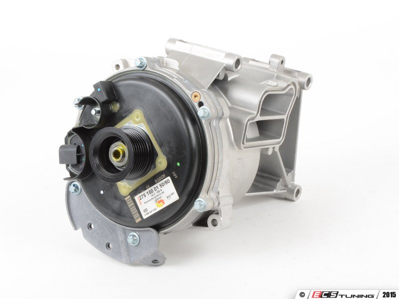 Genuine mercedes benz 2751500150kt remanufactured for Mercedes benz alternator repair cost