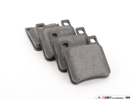 ES#2603103 - 0044209320 - Rear Brake Pad Set - Does not include new brake pad wear sensors - Pagid - Mercedes Benz