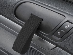 ES#2839590 - DH20BLKBLK - RS Style Door Pull Set - Black - Give your interior the racing feel of the Porsche RS models, sold as a pair - Rennline - Volkswagen