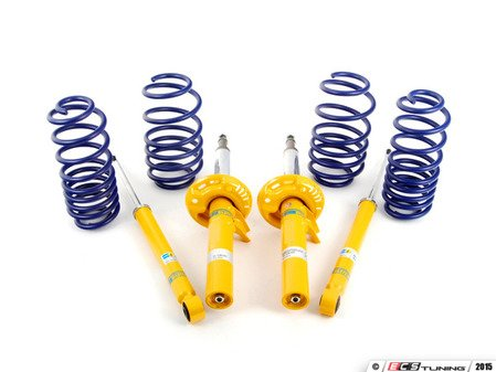 ES#7426 - 54750-88bsc - H&R Race Spring & Bilstein Sport Shocks Combo - Perfect combination of handing & ride quality - Assembled By ECS - Volkswagen