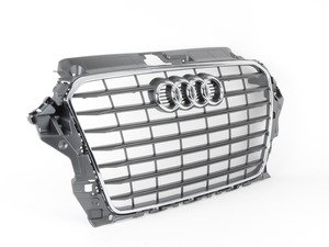 ES#2726167 - 8V5853651B1QP - Grille Assembly - stone grey - Clean up or change your look - Genuine Volkswagen Audi - Audi