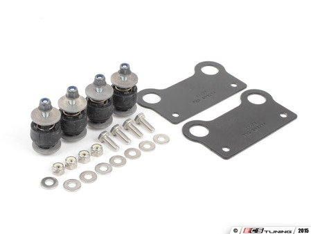 ES#2695381 - 50714 - Compressor Isolation Kit - Priced Each - Reduce cabin noise and trunk vibrations! - Air Lift - Audi BMW Volkswagen