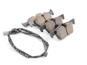 ES#2816720 - EUR1613 - Rear Euro Ceramic Brake Pad Set - Offers excellent pedal feedback, low dust, and smooth initial bite. A favorite among BMW enthusiasts. - Akebono - BMW