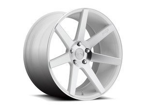 "ES#2863394 - m15119854342KT2 - 19"" Verona - Set Of Four - 19""x8.5"" ET42 / 19""x9.5"" ET35 5x112 - Matte White - Niche Wheels - Volkswagen"