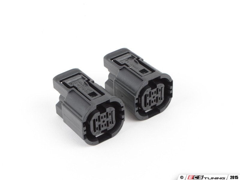 genuine porsche 99965016840 connector housings rh ecstuning com 5 Pin Trailer Connector Wiring Ford Wiring Connectors