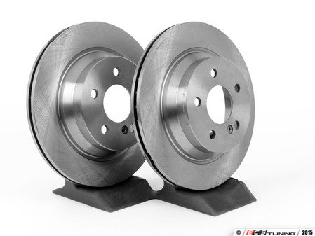 ES#2569689 - 2114230912SET6 - Rear Brake Rotors - Pair - Vented rotors, not for use on vehicles with solid rear brake rotors - Balo - Mercedes Benz