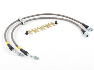 ES#3224985 - 950.33013 - Stainless Steel Brake Lines - Front - Stainless lines for shorter, more consistent stops - StopTech - Volkswagen