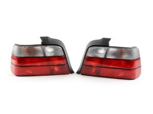 ES#2808255 - 4441902PUEVCR - Red/clear Tail Light Set  - Dress to impress with new tail lights! - Depo - BMW