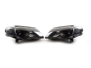 ES#2862436 - HD-JH-VWPAT06-BK - OE Style Headlight Set - Black - Keep the stock look but add blacked-out housings to make your Passat stand out - Spyder - Volkswagen