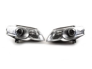 ES#2862437 - HD-JH-VWPAT06-C - OE Style Headlight Set - Chrome - Replace you faded factory headlights with these upgraded European units - Spyder - Volkswagen