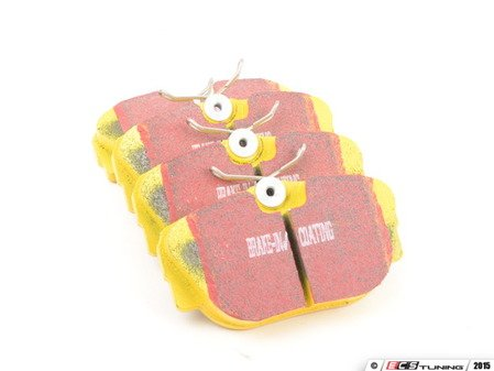 ES#521096 - DP4779R - Front YellowStuff Performance Brake Pad Set - A race quailty pad that can be used at the track, and then get you back home again. - EBC - BMW
