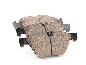 ES#2623195 - 34116796844 - Front Euro Ceramic Brake Pad Set - Offers excellent pedal feedback, low dust, and smooth initial bite. A favorite among BMW enthusiasts. - Akebono - BMW