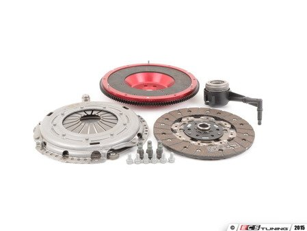 ES#2826538 - 10105080569K - 240mm lightweight flywheel and OEM clutch kit - Includes clutch disc, pressure plate, lightweight flywheel, release bearing and pressure plate hardware. - Autotech - Volkswagen