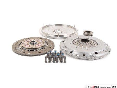 ES#2826553 - 10105200509K - 228mm steel flywheel and OEM clutch kit - Includes clutch disc, steel flywheel, pressure plate, release bearing and pressure plate hardware. - Autotech - Volkswagen