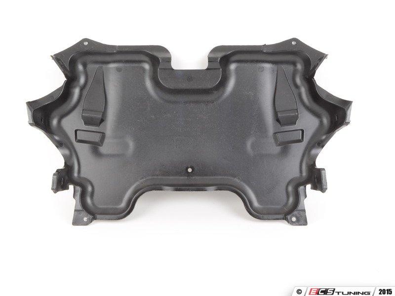 Engine Belly Pan : Genuine mercedes benz engine belly pan center