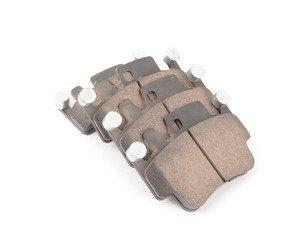 ES#2598646 - 99635294903 - Akebono EUR917 Brake Pad Set - EURO Ceramic brake pads - Akebono - Porsche