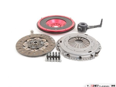 ES#2826541 - 10105090569K - Stage 1 OEM Clutch Kit - Aluminum Flywheel  - 240mm aluminum flywheel, OE clutch kit, pressure plate, throw out bearing, and all necessary hardware - Autotech - Volkswagen