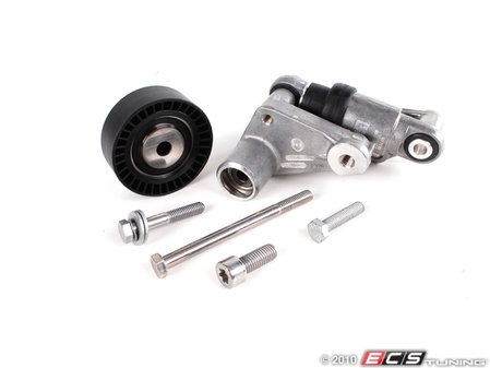 ES#517967 - 11287838797 - Hydraulic Alternator Belt Tensioner Conversion Kit - Complete conversion kit for converting alternator tensioner over to the more reliable hydraulic tensioner design - Assembled By ECS - BMW