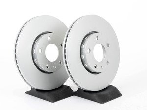 ES#11752 - 8E0615301QKT2 - Front Brake Rotors - Pair (288x25) - Featuring a protective Meyle Platinum coating. - Meyle - Audi Volkswagen