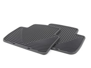 ES#2193886 - W154 - Rear All-Weather Floor Mats - Black - All-weather protection to endure the harshest conditions - WeatherTech - BMW