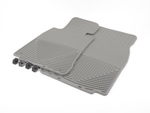 ES#2194114 - W156GR - Front All-Weather Floor Mats - grey - All-weather protection to endure the harshest conditions - WeatherTech - BMW