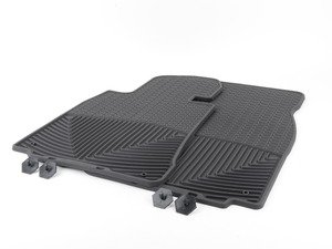 ES#2194113 - W156 - Front All-Weather Floor Mats - black - All-weather protection to endure the harshest conditions - WeatherTech - BMW